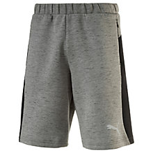 Buy Puma Evostripe SpaceKnit Running Shorts, Grey Online at johnlewis.com