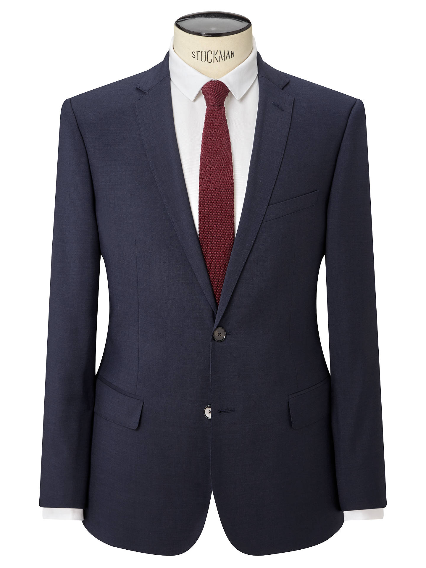 "John Lewis Kin Crepe Slim Fit Notch Lapel Suit Jacket Teal 36"" Regular RRP £119"
