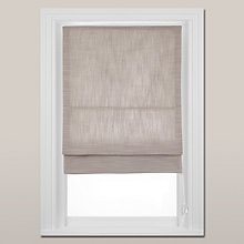 Buy John Lewis Croft Collection Textured Roman Blind Online at johnlewis.com