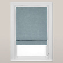 Buy John Lewis Country Blackout Roman Blind, Duck Egg Online at johnlewis.com