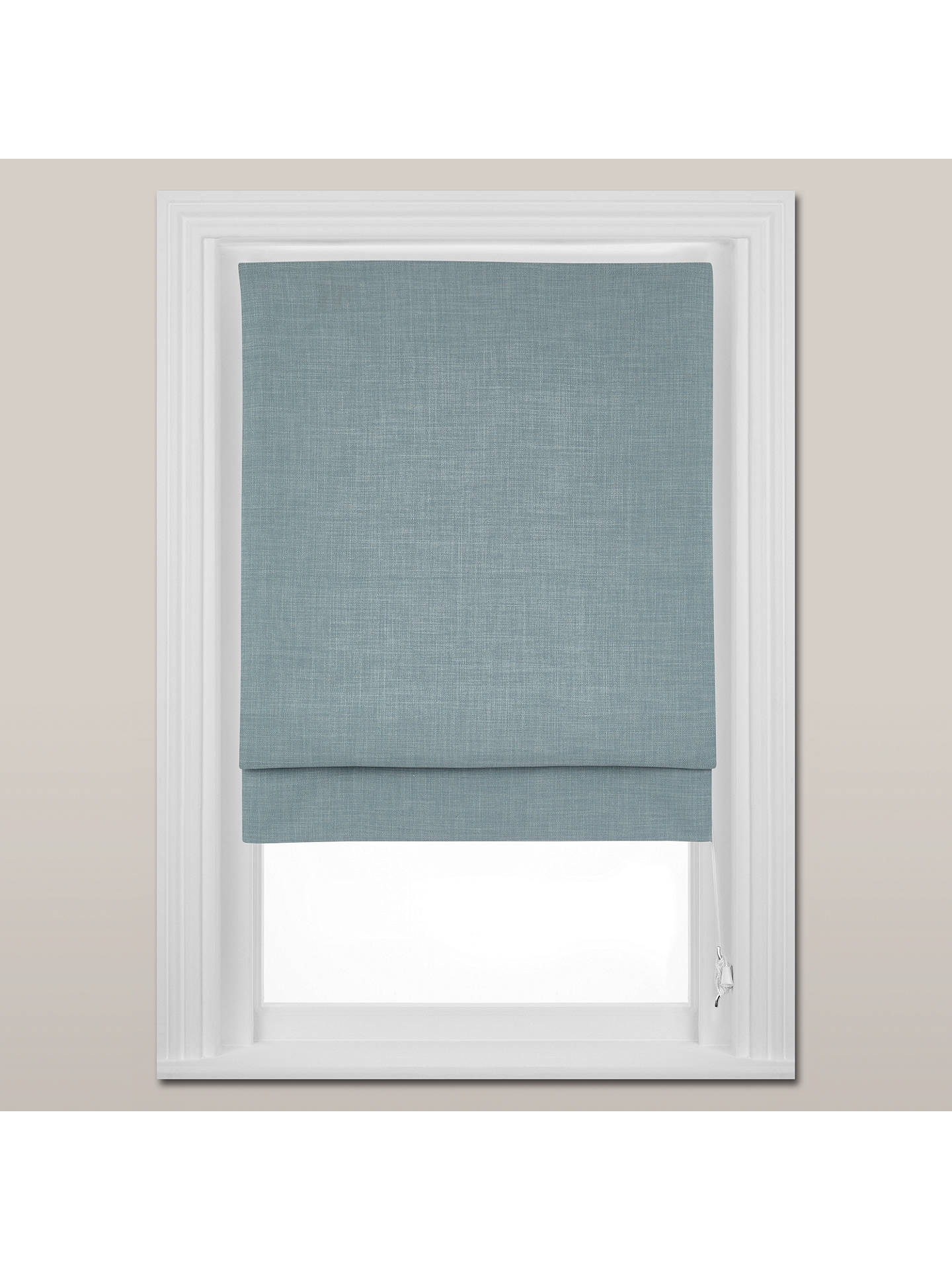 BuyJohn Lewis & Partners Country Blackout Roman Blind, Duck Egg, W150cm Online at johnlewis.com