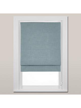John Lewis & Partners Country Blackout Roman Blind, Duck Egg