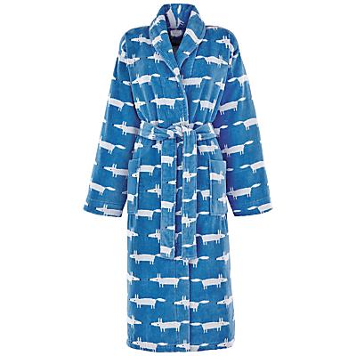 Scion Mr Fox Bath Robe, Denim
