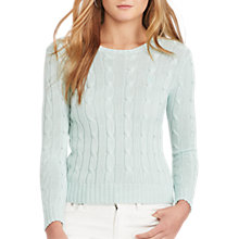 Buy Polo Ralph Lauren Cable-Knit Cotton Jumper Online at johnlewis.com