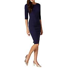 Buy Sugarhill Boutique Claudia Ponte Dress, Navy Online at johnlewis.com