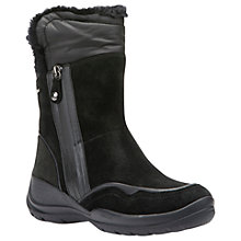 Buy Geox Hellin Amphibiox Hiking Ankle Boots, Black Online at johnlewis.com