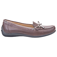 Buy Geox Yuki Flat Moccasins Online at johnlewis.com