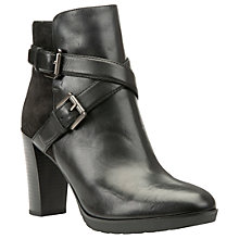 Buy Geox Raphel Cross Strap Ankle Boots Online at johnlewis.com