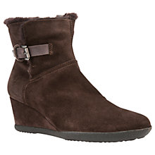Buy Geox Amelia Wedge Ankle Boots Online at johnlewis.com