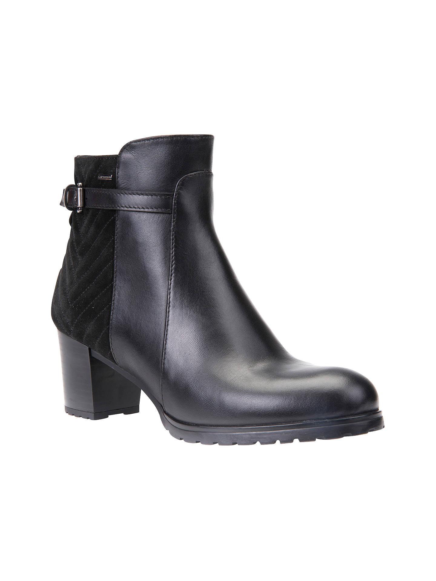 b9c37c97e23 Buy Geox Lise Amphibiox Waterproof Ankle Boots, Black, 3 Online at  johnlewis.com ...