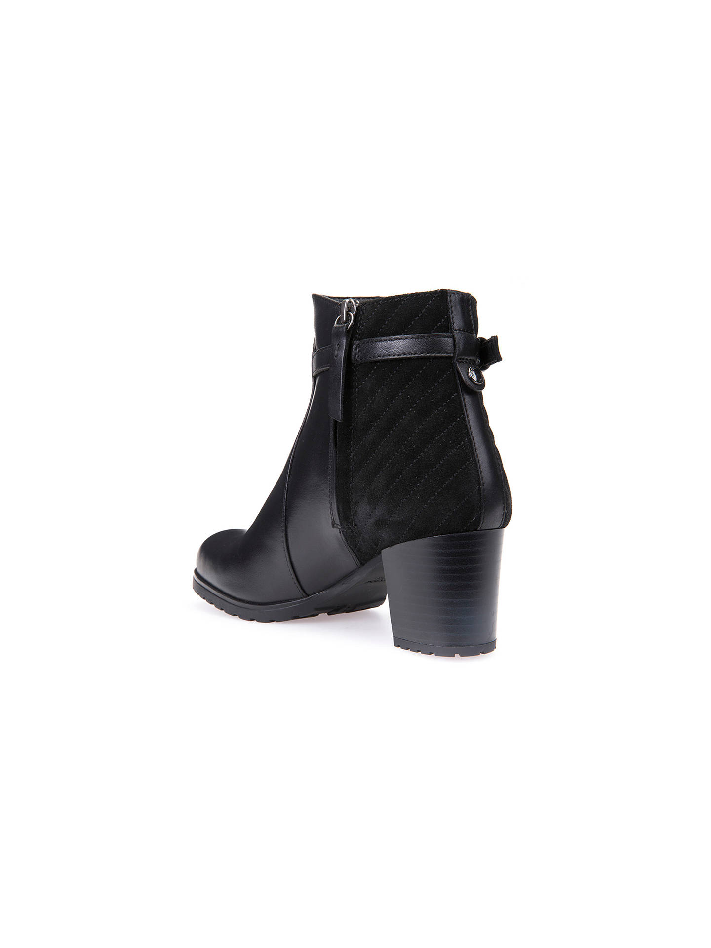 43e730742c1 ... Buy Geox Lise Amphibiox Waterproof Ankle Boots, Black, 3 Online at  johnlewis.com ...