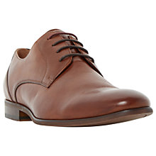 Buy Dune Royston Derby Shoe, Brown Online at johnlewis.com