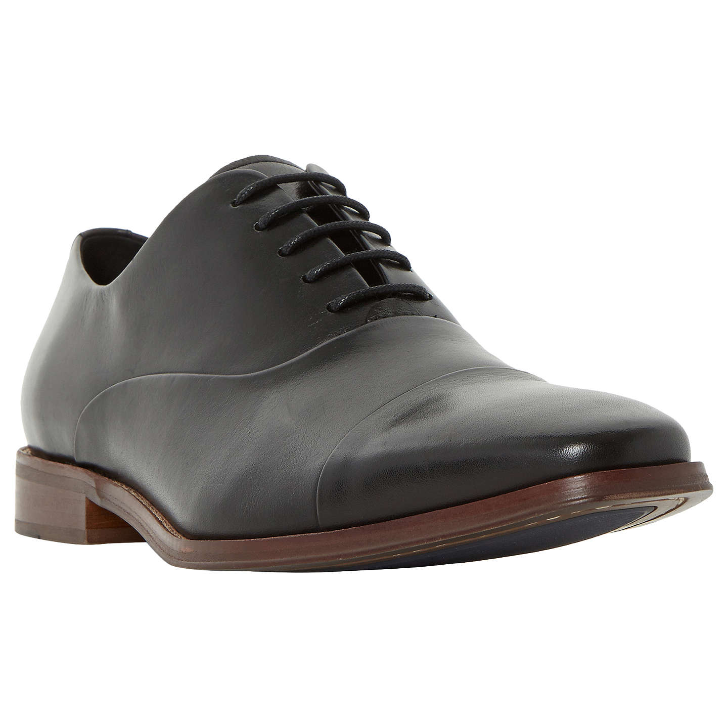 BuyDune Ravenswood Oxford Shoes, Black, 7 Online at johnlewis.com