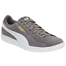 Buy Puma Vikky Women's Trainers, Grey/White Online at johnlewis.com