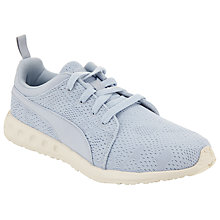 Buy Puma Carson Mesh Women's Running Shoes, Blue/White Online at johnlewis.com