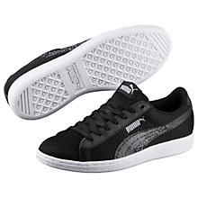 Buy Puma Vikky Women's Trainers, Black/Grey Online at johnlewis.com