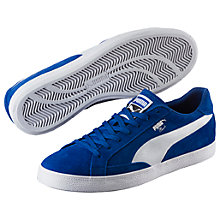 Buy Puma Match Vulc 2 Men's Trainers, Blue/White Online at johnlewis.com