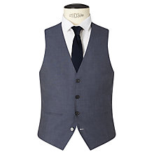 Buy Kin by John Lewis Newick Panama Weave Slim Fit Waistcoat, Light Blue Online at johnlewis.com