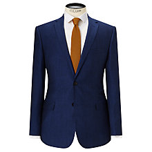 Buy Kin by John Lewis Ayris Linen-Wool Slim Suit Jacket, Electric Blue Online at johnlewis.com