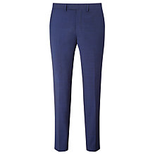 Buy Kin by John Lewis Miller Pindot Slim Fit Suit Trousers, Bright Blue Online at johnlewis.com