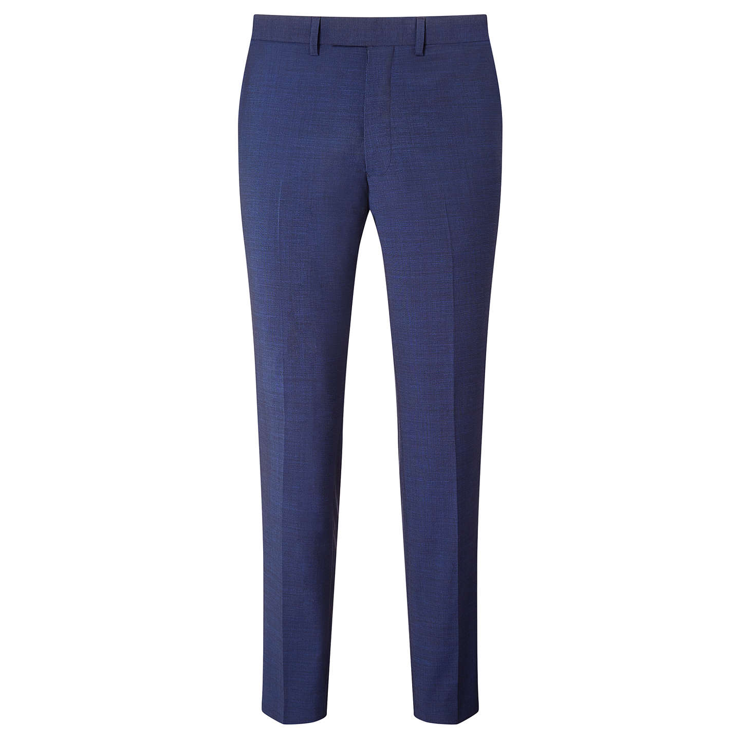 Cheap New Kin By John Lewis Miller Pindot Slim Fit Suit Trousers Bright Blue for Men Online On Sale