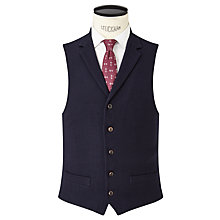 Buy JOHN LEWIS & Co. Thurloe Brushed Wool Tailored Waistcoat, Navy Online at johnlewis.com