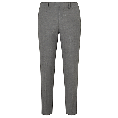 Kin by John Lewis Norcott Textured Slim Fit Suit Trousers, Grey