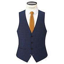Buy Kin by John Lewis Miller Pindot Slim Fit Waistcoat, Bright Blue Online at johnlewis.com