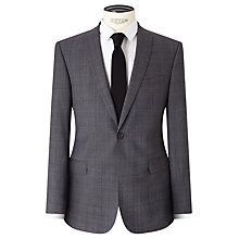 Buy Kin by John Lewis Jude Check Slim Suit Jacket, Grey Online at johnlewis.com