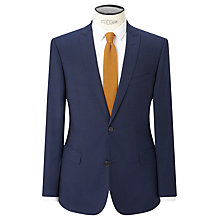 Buy Kin by John Lewis Miller Pindot Slim Fit Suit Jacket, Bright Blue Online at johnlewis.com