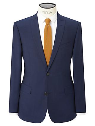 Kin Pindot Slim Fit Suit Jacket, Bright Blue