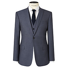 Buy Kin by John Lewis Newick Panama Weave Slim Fit Suit Jacket, Light Blue Online at johnlewis.com