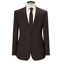 Buy Kin by John Lewis Collet Stretch Cotton Slim Fit Suit Jacket, Khaki Online at johnlewis.com