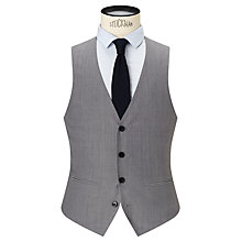 Buy Kin by John Lewis Hassett Tonic Slim Fit Waistcoat, Light Grey Online at johnlewis.com