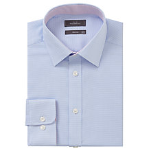 Buy John Lewis Non Iron Puppytooth Tailored Fit Shirt Online at johnlewis.com