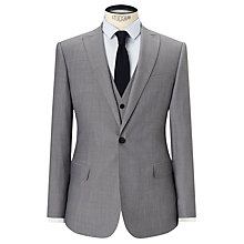 Buy Kin by John Lewis Hassett Tonic Slim Fit Suit Jacket, Light Grey Online at johnlewis.com