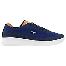Buy Lacoste Spirit Elite Trainers, Navy Online at johnlewis.com