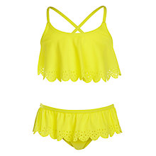 Buy John Lewis Girls' Pretty Laser Cut Bikini Online at johnlewis.com