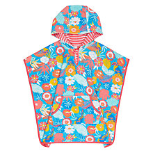 Buy John Lewis Children's Tropical Towelling Swim Poncho, Multi Online at johnlewis.com