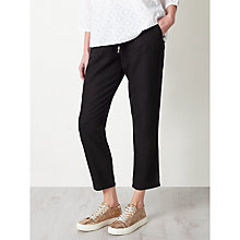 Buy Collection WEEKEND by John Lewis Relaxed Fit Linen Chinos, Black Online at johnlewis.com