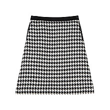 Buy Precis Petite Sian Houndstooth Skirt, Multi Online at johnlewis.com