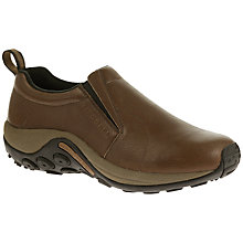 Buy Merrell Jungle Moc Slip On Shoes, Brown Online at johnlewis.com
