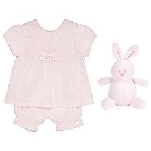 Buy Emile et Rose Baby Kirsten Bow Top and Pant Set, Pink Online at johnlewis.com