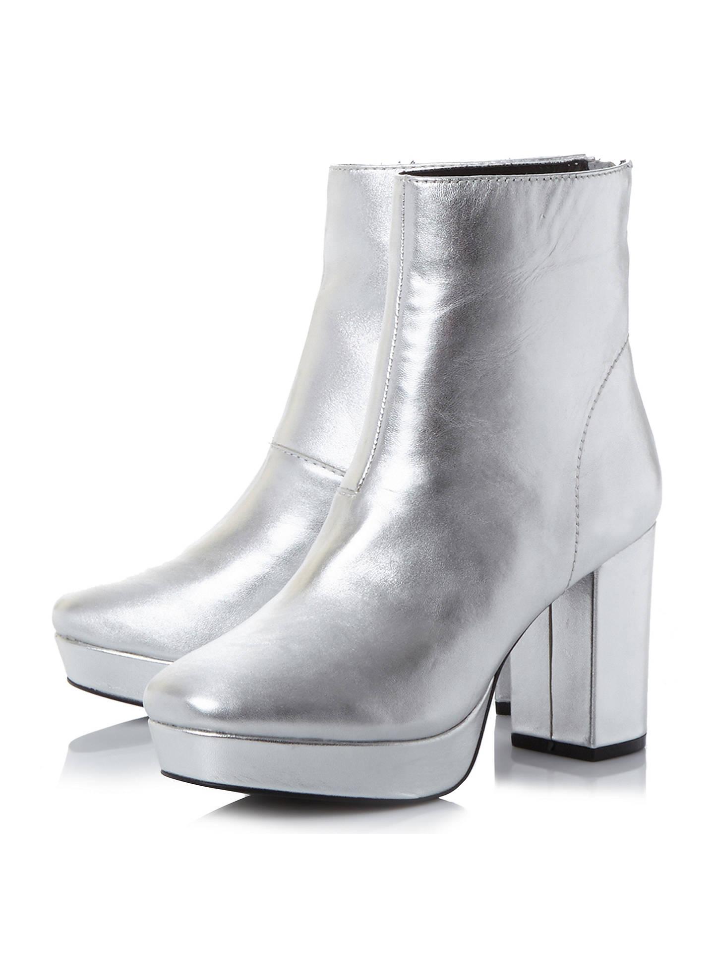 867123b56e4 Steve Madden Peace Platform Block Heeled Ankle Boots at John Lewis ...