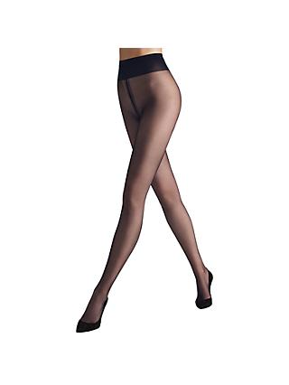 Wolford Individual 10 Denier Tights, Dark Navy