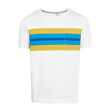Buy John Lewis Boys' Chest Stripe T-Shirt Online at johnlewis.com