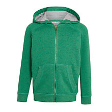 Buy John Lewis Boys' Neppy Zip Hoodie Online at johnlewis.com