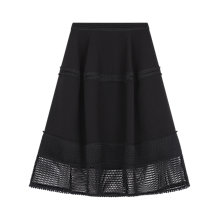 Buy Gerard Darel Tucson Skirt, Black Online at johnlewis.com
