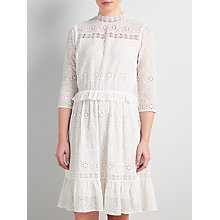 Buy Somerset by Alice Temperley Broderie Dress, White Online at johnlewis.com