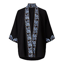 Buy Somerset by Alice Temperley Embroidered Kimono, Black Online at johnlewis.com